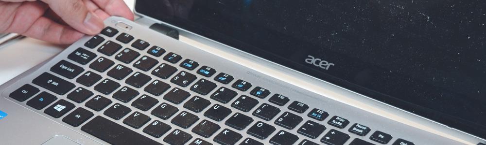 Не работает клавиатура на ноутбуке Acer