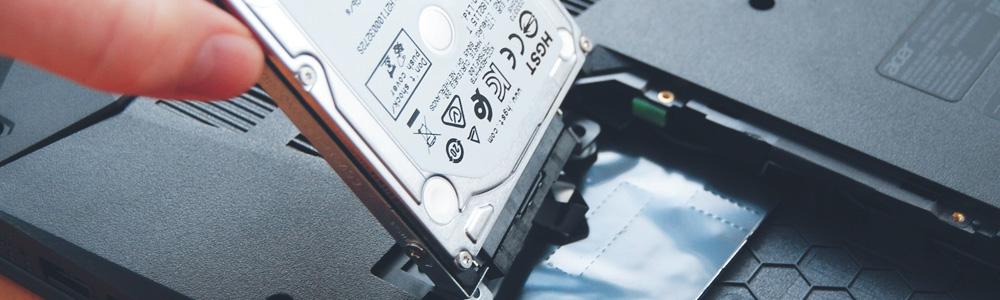 Замена жесткого диска на ноутбуке Acer