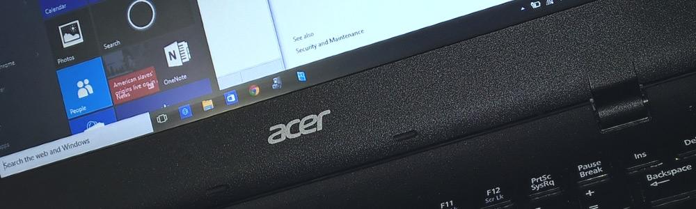Как переустановить Windows 10 на ноутбуке Acer